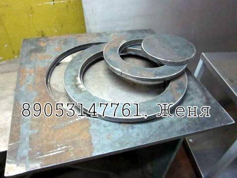 Плита с кольцами для казана толщ. 20 мм